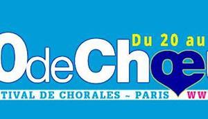 Logo festival de chorales 10 de choeur