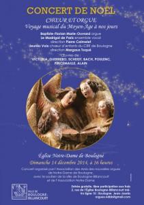 Concert de Noel Boulogne Billancourt