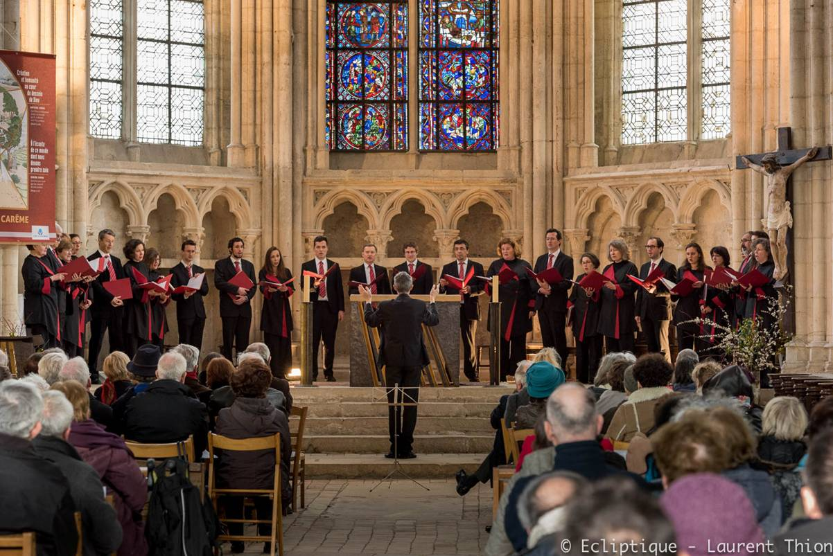 Concert du Madrigal à St Sulpice de Favière