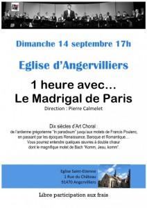 Affiche concert Angervillers