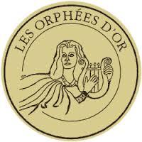 Médaille orphées d'or