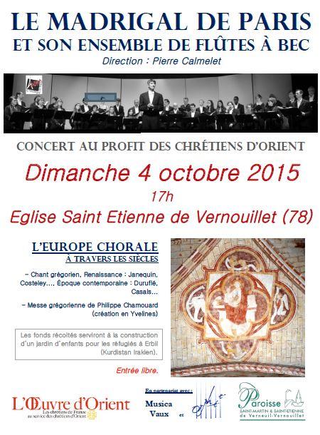 Concert Vernouillet 4 oct 2015