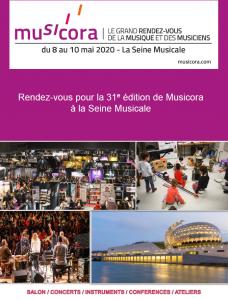 Le Madrigal de Paris chante au salon Musicora